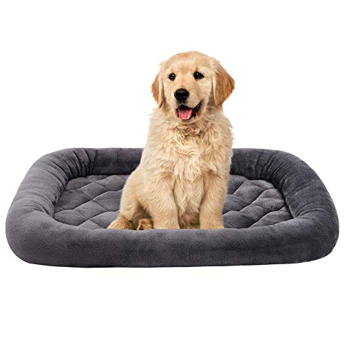 EMME Padded Luxury Flannel All Season Crate Mat for Pets $19.44 (50% Off at checkout)