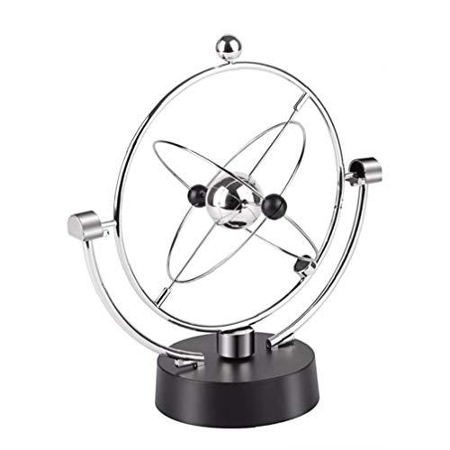 Oscilación magnética cinético Orbital Craft Escritorio Decoración perpetuo Globe péndulo de Newton Inicio Adornos