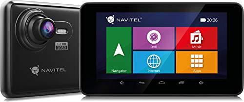 Navitel RE900 navigatiesysteem navigatiesysteem 5 inch display met Lifetime kaarten Europa incl. dashcam - functie 1080p Full HD autocamera 140°