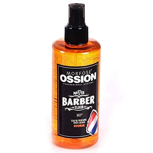 Morfose Ossion Morfose ossion eau de cologne 300ml kolonya 80° alkoholgehalt desinfizierend master of barber elixir stormwaveimpact after shave spray langanhaltender herren duft storm