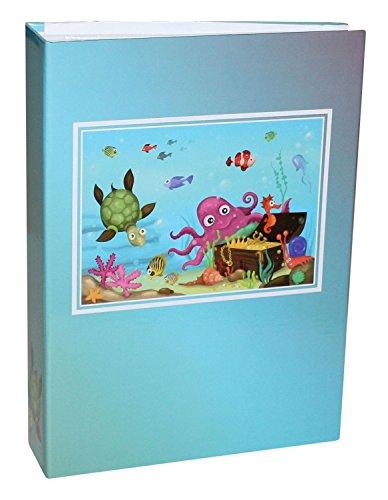 Idena 12025 - Einsteckalbum, FSC Mix, 25,5 x 18,5 x 5,5 cm, Unterwasserwelt, 1 Stück