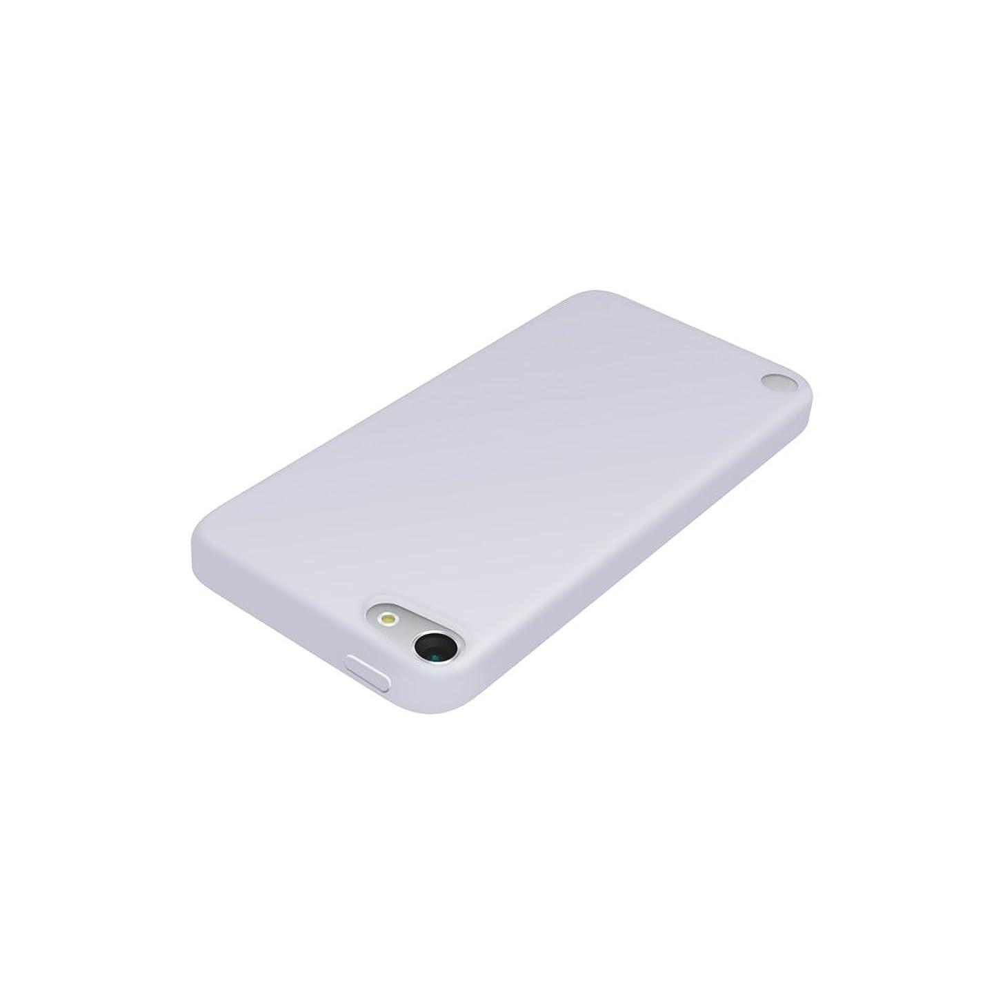 警官踊り子乙女iBUFFALO iPod touch(2012年発表モデル)専用 シリコンケース 液晶保護フィルム付 クリア BSIP12TCSCR