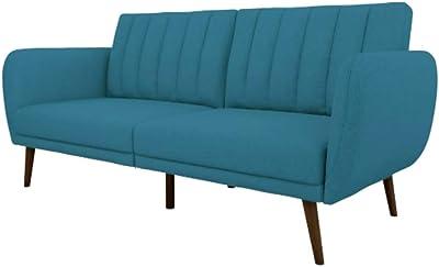 Amazon Com Ravenna Home Randall Rolled Arm Sofa 83 Quot W