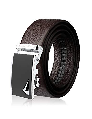 Demon&Hunter ABL Series Luxury Men's Belt DH430B(Brown/110CM)