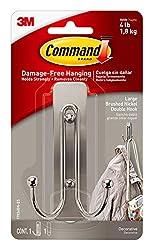 package of command hook coat hook