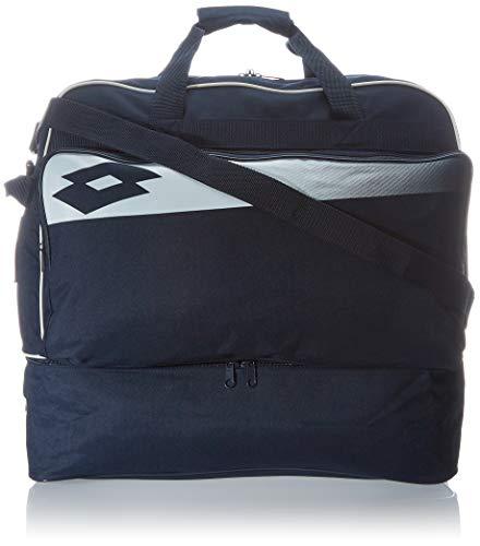 Lotto Herren Soccer Omega Ii Strandtasche, Blau (Navy/Wht), 36x24x45 Centimeters (W x H x L)