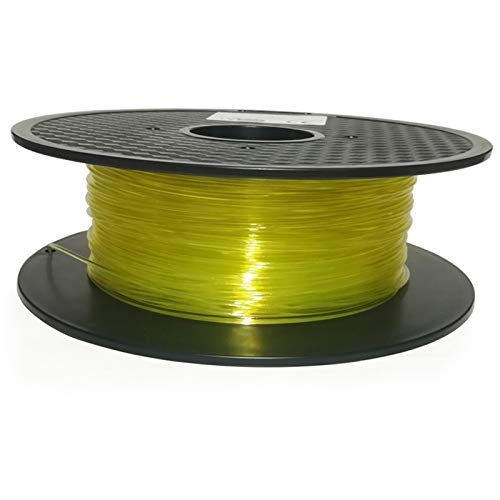 AGiao high strength Water-soluble support material 3D printer filament 1.75mm 1kg water dissolved material Good toughness (Color : Transparent)