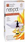 Himalayan Institute Original Neti Pot Complete Sinus Cleansing System Starter Kit (Pack of 2)