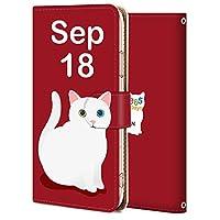 iPhone 11 ケース 手帳型 アイフォン 11 カバー スマホケース おしゃれ かわいい 耐衝撃 花柄 人気 純正 全機種対応 誕生日9月18日-猫 アニマル かわいい アニメ 9714988
