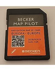 Mercedes Becker Map Pilot GPS SD-kaart Europa V20 2020 (BE9077, M013, M041, M045, M046, M050, M051)