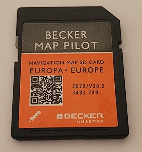 Mercedes Becker Map Pilot GPS SD Karte Europa V20 2020 (BE9077, M013, M041, M045, M046, M050, M051)
