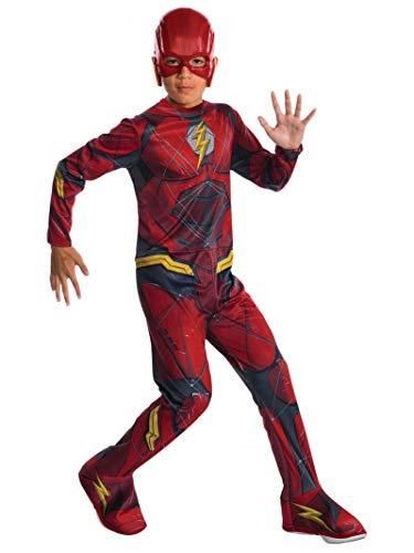 - Das Flash Kostüm Kind