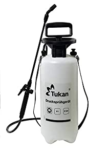 Gloria Tukan 5, pulverizador de presión de 5 litros con Boquilla Ajustable