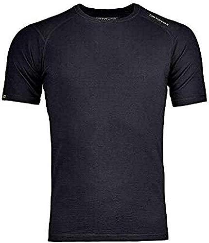 ORTOVOX 84318 V902 T-Shirt, Homme XXL Noir (Black Raven)