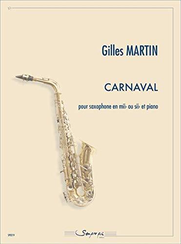 Gilles Martin-Carnaval-Saxophon und Klavier-BOOK