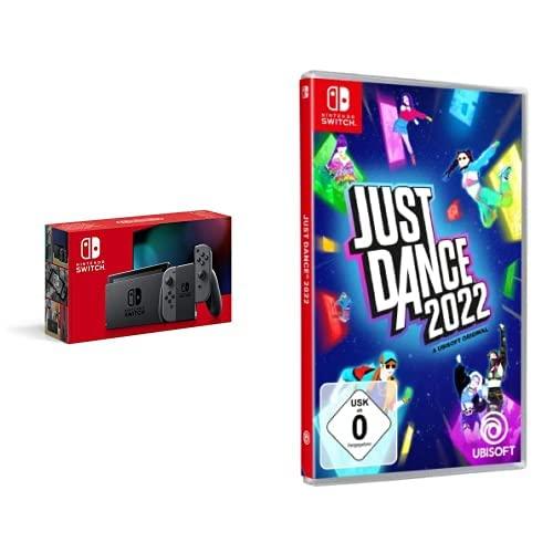 Nintendo Switch Konsole - Grau + Just Dance 2022 - [Nintendo Switch]