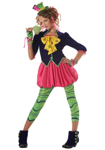 California Costumes girls Tween Miss Mad Hatter Costume Small (6-8) - http://coolthings.us