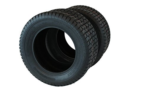 SPRING SALE Set of Two 22x9.50-12 4 Ply Turf Tires for Lawn & Garden Mower (2) 22x9.5-12
