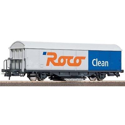 Roco H0 Roco CLEAN-Schienenreinigungswagen