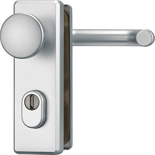 ABUS Tür-Schutzbeschlag KKZS700 F1 aluminium für Feuerschutztüren 12858