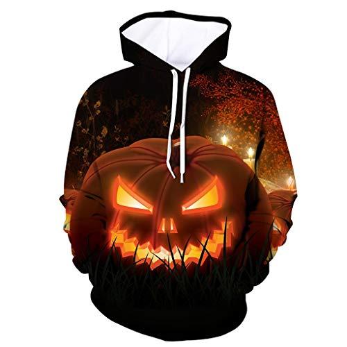 SOLELING Felpa con cappuccio 3D da uomo Felpa con cappuccio Cosplay di Halloween Felpa con cappuccio Felpa unica Galaxy Pullover