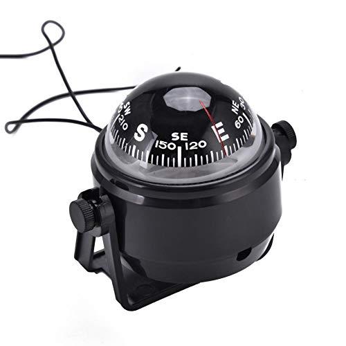 VGEBY Bussola per Barche Bussola Notturna a LED di Alta precisione Bussola Magnetica Digitale Bussola Elettronica Marina