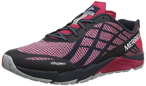 Merrell Bare Access Flex Shield Womens Running Shoes Mesh 9 US Black/Rose