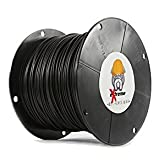1000 Feet - 14 Gauge Copper Core PE Covered Construction Quality Top Grade Wire - Better and Longer Lasting Than THHN