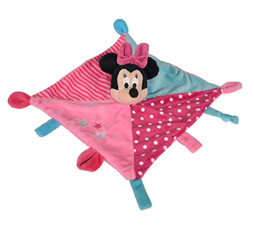 Simba 6315876398 Disney Minnie - Mantita de Seguridad en 3D, diseño de Minnie Mouse
