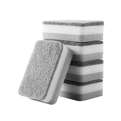 FZJDX 5 unids Suministros de Cocina Limpieza brochas esponjas mágicas lavavajillas Cepillo doméstico Gadgets Herramientas Borrador para baño de Oficina