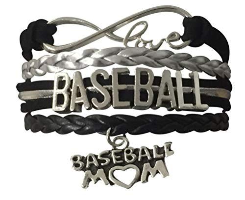 qws Baseball-Mutter-Armband, Baseball-Schmuck für Mütter