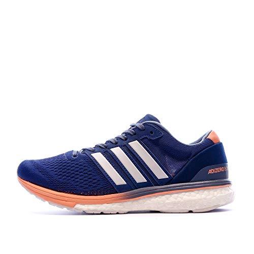 adidas Women's Adizero Boston 6 Training Shoes, Blue (Noble Indigo/Footwear White/Raw Steel), 3.5 UK 36 EU