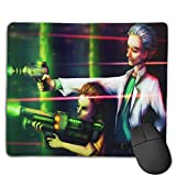 WINTERSUNNY Anime Rick Mouse Pad with Stitched Edges Mouse Pad Non-Slip Rubber Base Waterproof for Office Computer Mouse Mat Cool Boys Girls Mouse Pad 8.7x7.1x0.12 Inches