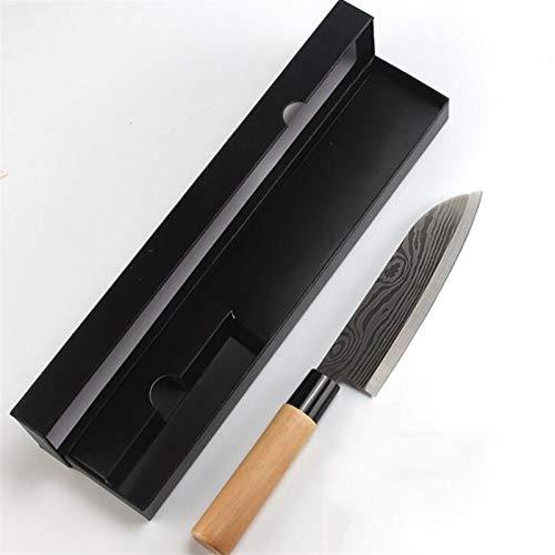 Cuchillo de chef láser Damasco Salmón Sushi Cuchillo de acero inoxidable Sashimi Cuchillo de cocina Sashimi Caja de cocina Cuchillo Cuchillo multifunción (Color : T2)