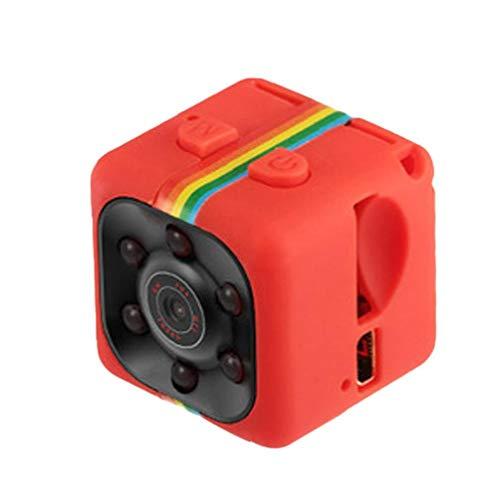 Odoukey Cámara HD 1080P la Noche del Sensor de Movimiento Visión SQ11 Mini videocámara DVR Micro Camara Sport DV Video Recorder Rojo