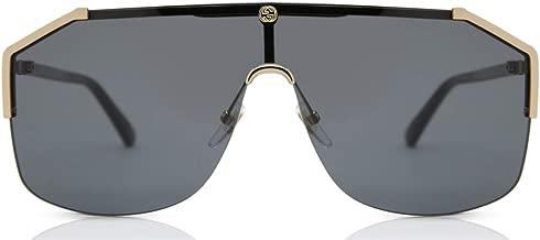 Gucci gg0291s 100% Authentic Men s Sunglasses Gold 001