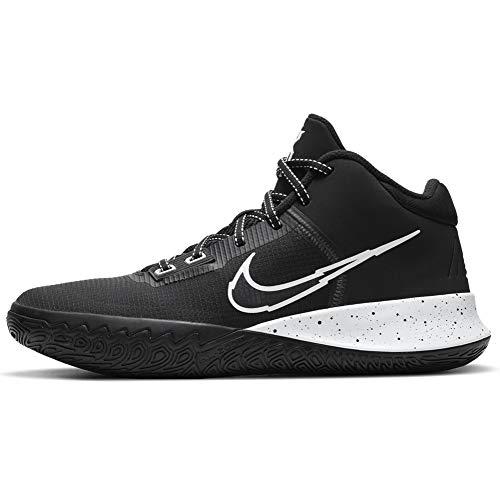 Nike Kyrie Flytrap IV - Zapatillas de baloncesto para hombre, negro (negro, plateado metálico, blanco (Black/White-Metallic Silver)), 42.5 EU