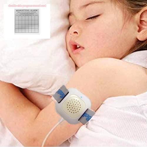 Alarma de Enuresis para Bebé Niños - 3 Alarmas - Sonido, Vibración y Luces - Alta Sensibilidad