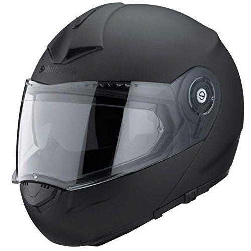 Motorrad-Helm Schuberth C3 Pro Matt Schwarz Med 56/57