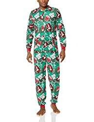 Fruit of the Loom Men's Holiday Microfleece Union Suit