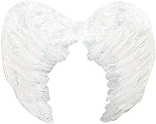 SUKRAGRAHA Angel Feather Wings Christmas Carol Costume Accessory White Small