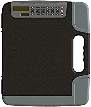 Staples 1671416 Portable Clipboard with Calculator HVY Duty Black 14 3/8 x 12 x 1 5/8