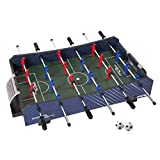 """Sport Squad FX40 40"""" Table Top Foosball Table for Adults and Kids - Compact Mini Tabletop Soccer Game - Portable Recreational Hand Soccer for Game Room & Family Game Night - Incl. 2 Foosball Balls"""
