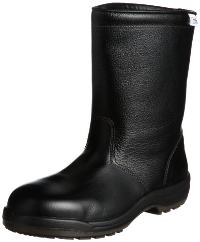 [ミドリ安全] 静電安全靴 JIS規格 エコマーク認定 半長靴 エコスペック ES240eco 静電 メンズ ブラック 23.5
