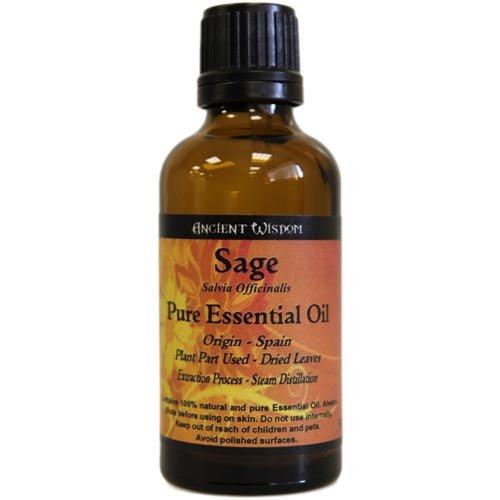 Oude wijsheid 50 ml Salie Pure etherische olie