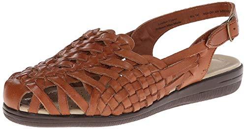 Comfortiva womens 12590 06 Xw 100 Sneaker, Rust Tan Leather, 5 Wide US