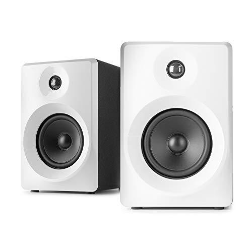 Vonyx SMN40W Monitor Estudio Activo 4' Pareja Blanco