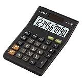 Casio MS-10B Escritorio - Calculadora (Escritorio, Calculadora básica, 10 dígitos, Inclinación de pantalla, Batería/Solar, Negro)
