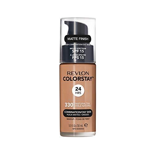 Revlon - ColorStay - Fond de Teint - Flacon 30 ml - Oily Skin - N330 - Natural Tan