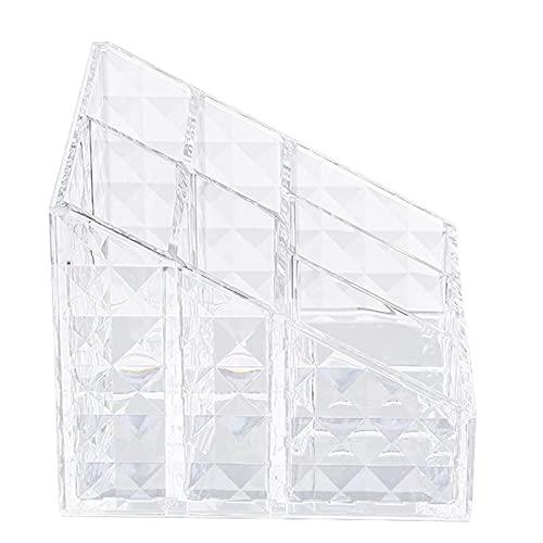 Opbergdoos, aanrecht make-up rack, cosmetische display kabinet, gemaakt van acryl materiaal, lichtgewicht en prachtige, geschikt voor badkamer en kaptafel. (Size : A)